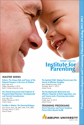The Parenting Institute Professional Development and Continuing Education Brochure