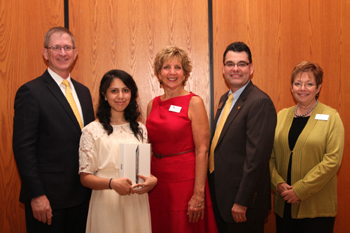 Mahnoor Misbah '14 is the 2012 Community Fellow Program Intern of the Year