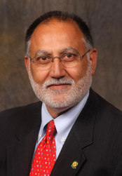 Rakesh Gupta, former dean of the School of Business