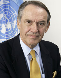 Jan Eliasson, Deputy Secretary-General of the United Nations