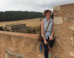 Kimberly Rieger studied anthropology in Crete.