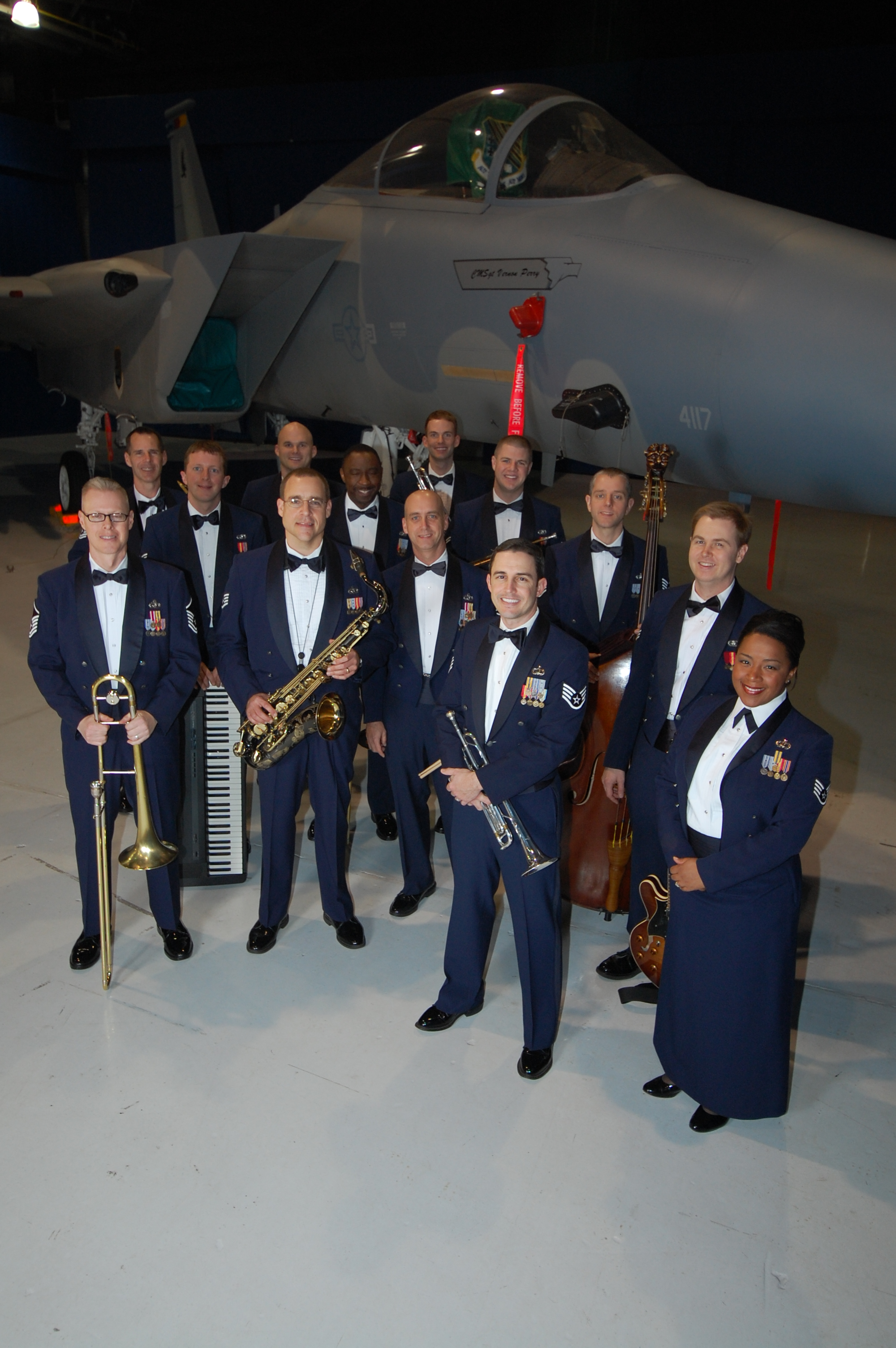 USAF Rhythm in Blue