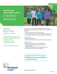 Survive and thrive wellness workshop