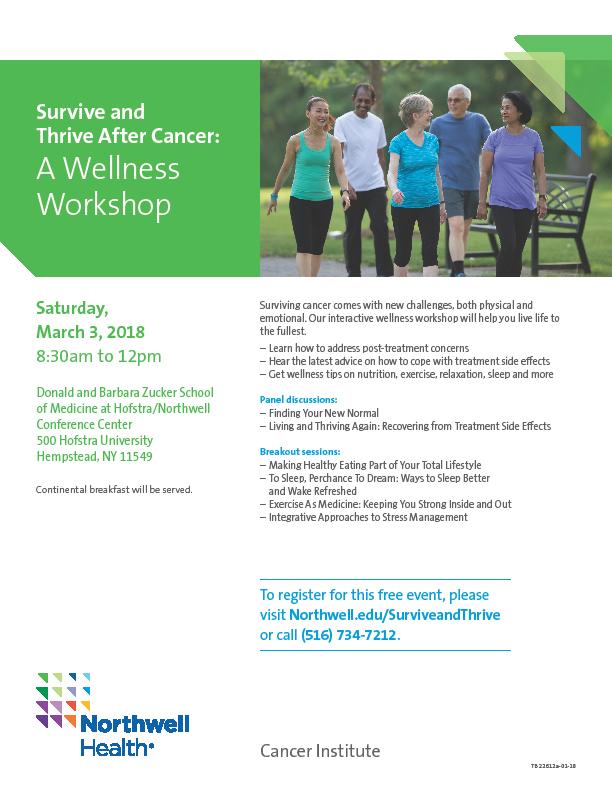register for a free wellness workshop