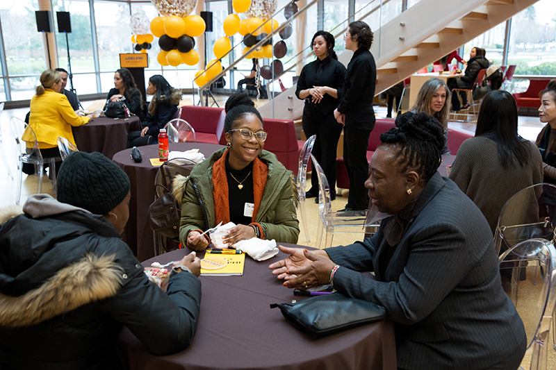 Admissions Fair at Adelphi