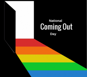 National Coming Out Day Flyer