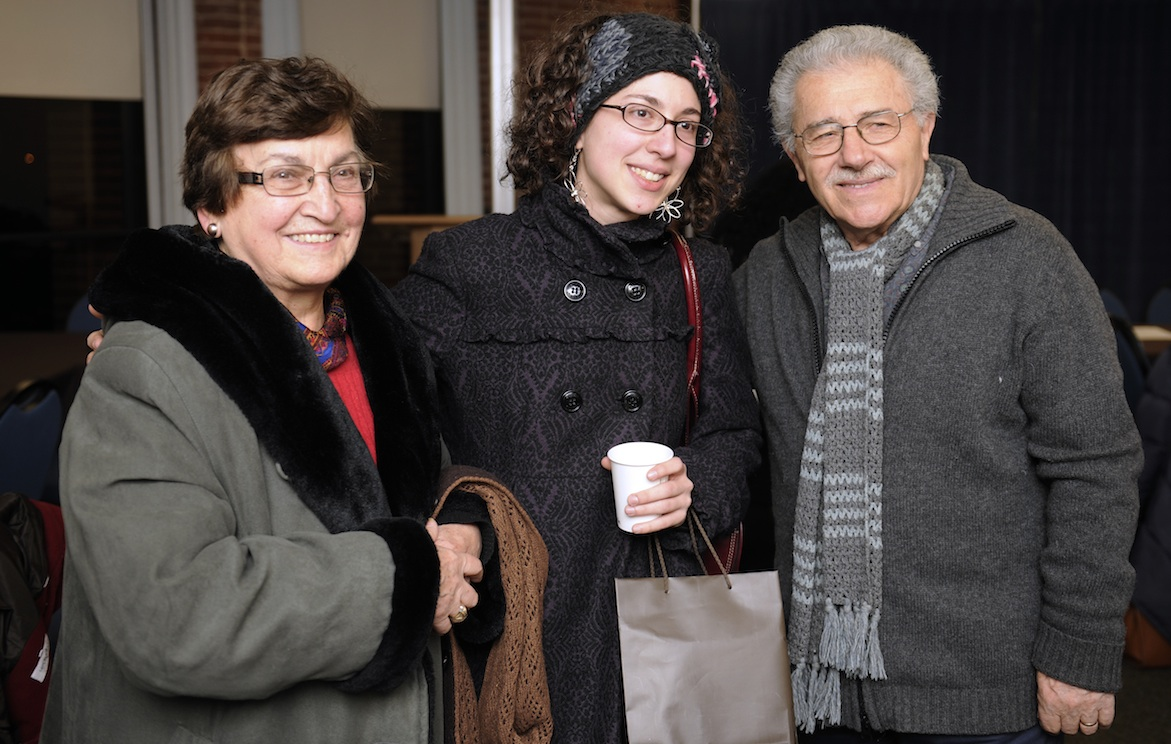 Sabrina Spotorno, a senior studying social work, was inspired by her grandparents from Italy.