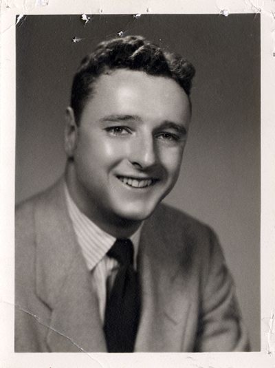 Professor Warren Eickelberg (circa 1950-1960)