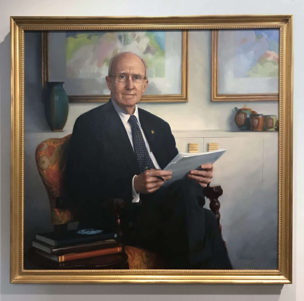 Portrait of Dr. Scott